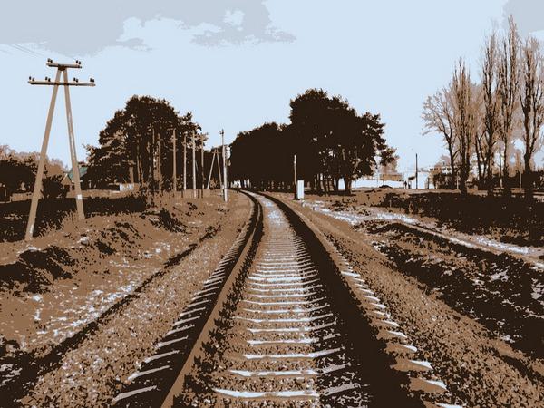Дорога на станцию Шебекино