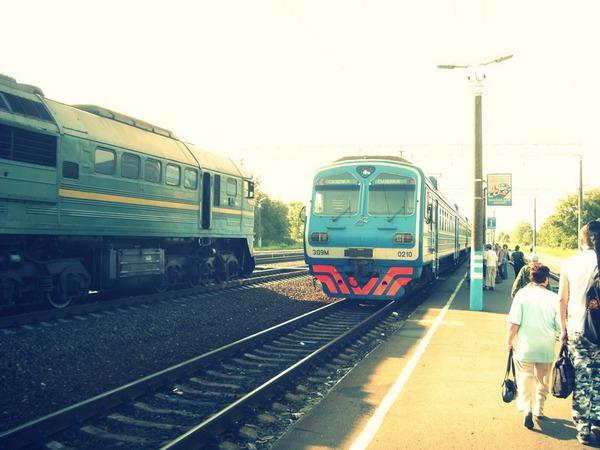 Электропоезд Сельцо-Суземка