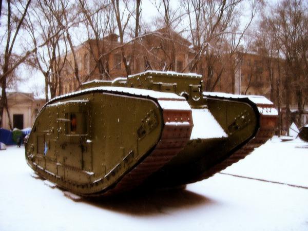Танк 1 Мировой войны Max V