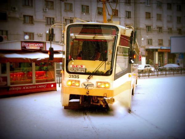 Подуставший трамвай
