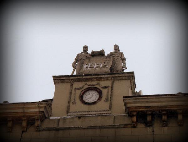 Часы Рабочий и Колхозница