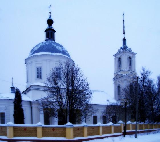 Храм Креста Воздвижения Господня в Севске