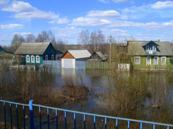 Утонувшая платформа Самара-Радица