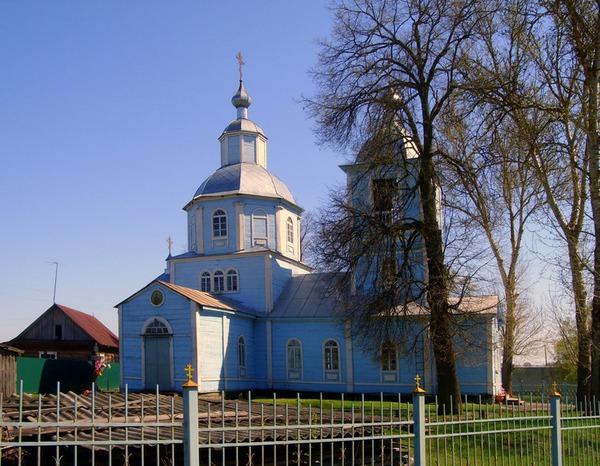 Храм Михаила Архангела в селе Бобрик