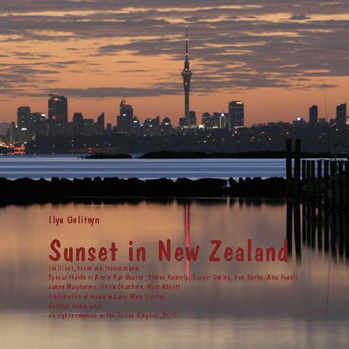 Ilya Golitsyn Sunset in New Zealand