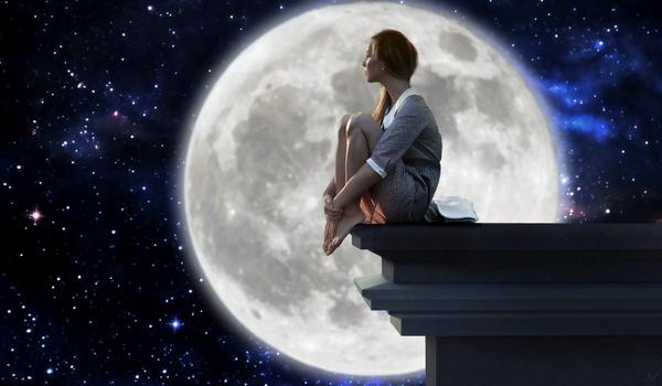 «Лунная девушка» (из серии «С любовью к Луне»)