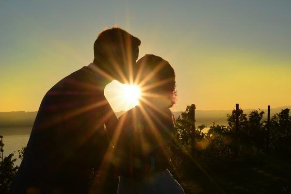 Сердечный поцелуй