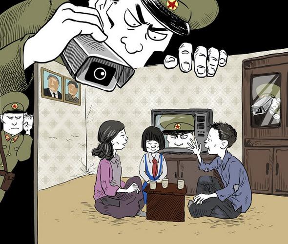 В Северной Корее нет человеческой жизни.