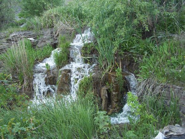 Водопад Зирчанский. с. Бобриково, Антрацитовский район, Луганская область.