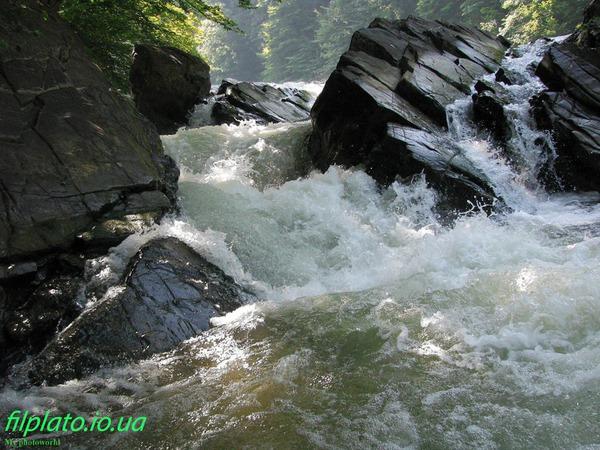 Водопад на реке Уж