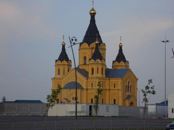 Новоярмарочный собор святого Александра Невского в Нижнем Новгороде