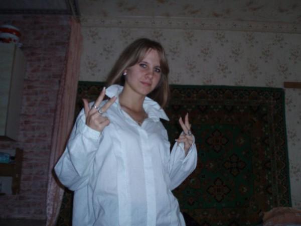 White girl )))