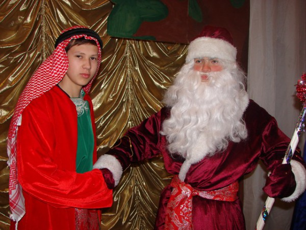 С Морозом договорился Новый Год будет что надо....