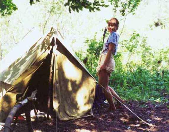 Это я летом 2001 года нанедалеко от места проведения Грушинского...