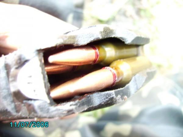 фотка с полевых занятий - стрельба с АК