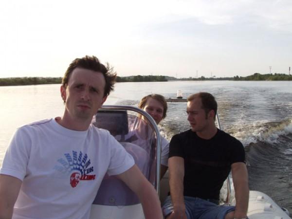Лодка - это .... буря эмоций!