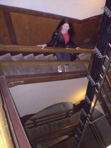 и почему в этой башне лифт не сделали...