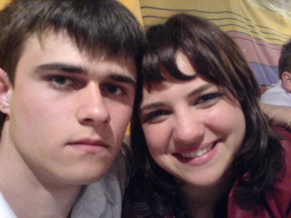 я и моя сестричка на сватьбе у брата