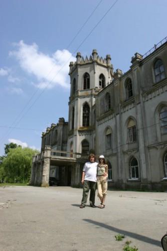 п.Червоне Бывшее поместье Терещенко, потом ПТУ, теперь женский монастырь