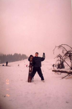 Сноубординг , шанпанское в Карпатах на Новый Год это просто супер-бомба !!!!!!!