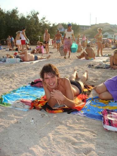 Наконецто мы на пляже