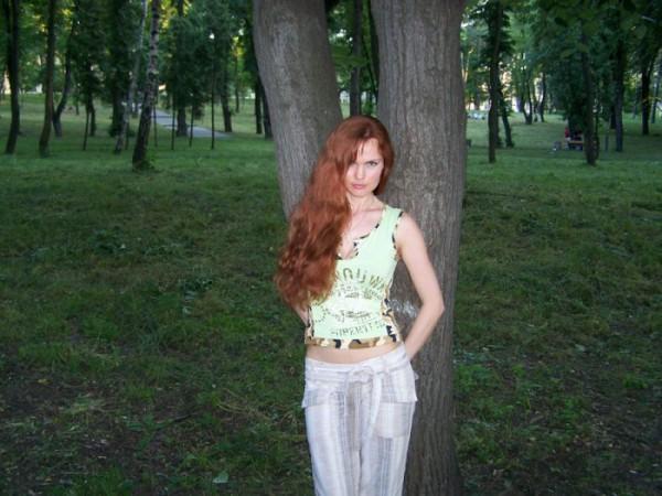 В любимом парке.