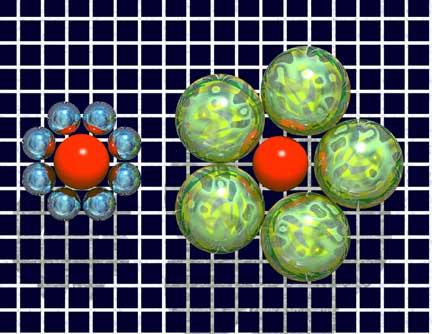 красные шарики одинаковые)))