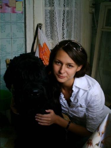 Моя лутшая подруга и моя собачка!