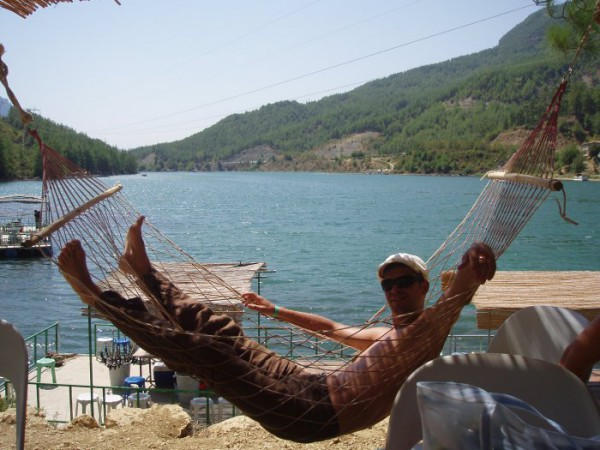 отдых после рыбалки