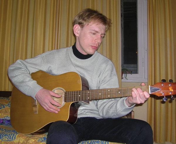 А Оле снился соло-гитарист...