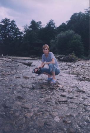горная река...лето июль 2004.