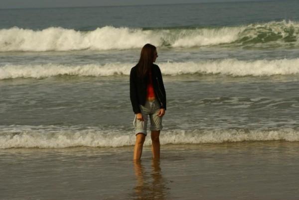 Atlantic ocean. Biarritz. France,