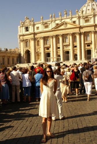 St. Peter's Cathedral. Vatican, Italy
