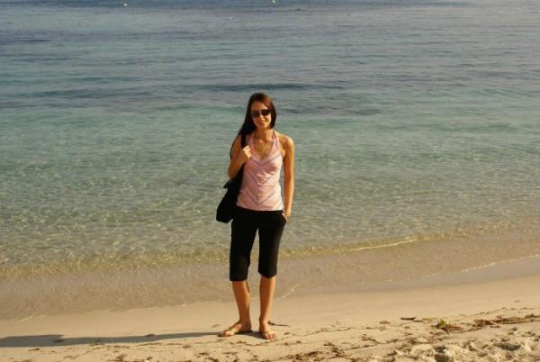 Antibes. Azure sea, France.