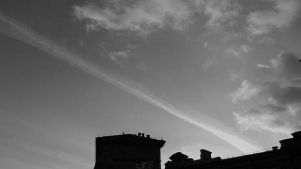 Хвост кометы.