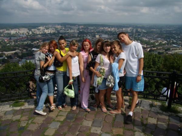 на Высоком замке во Львове