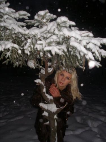 Раскажи снегурочка где была................?
