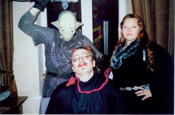 так мы Хеллуин праздновали