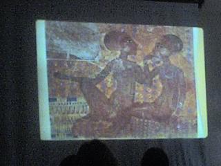 у египетских царей была такая голова))