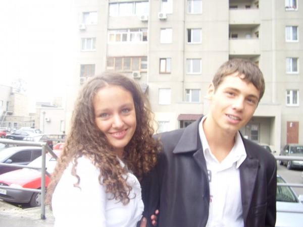 я с Женечкой!!!))