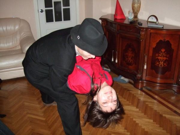 Танго :))) Розочку скушали :)))
