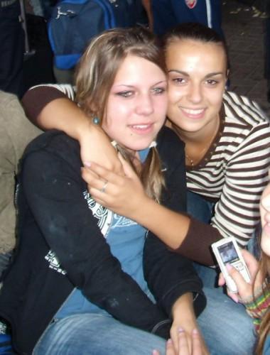 Отьезд с лагеря)))я и моя буба)))