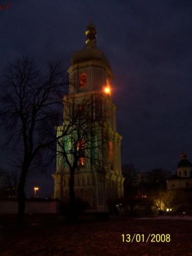 Колокольня Совиивской церкви