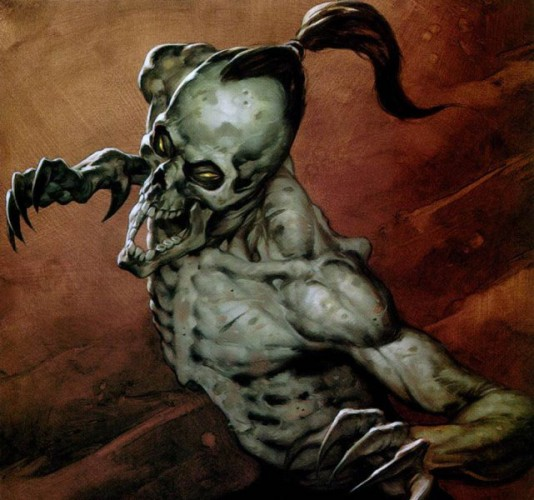 Демон подземелья