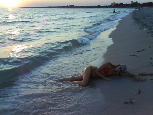 нежное....теплое море........:)
