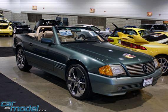 мая мечта Mercedes W129