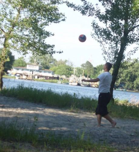 я и мячик=)