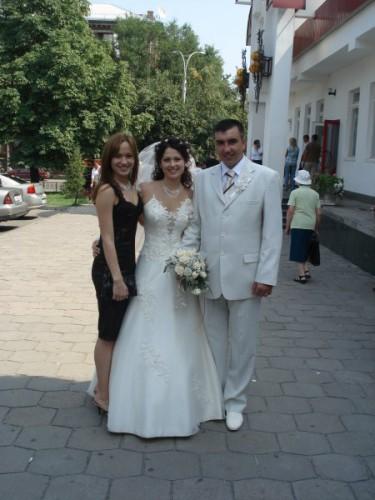 я с сестренкой и ее мужем )))