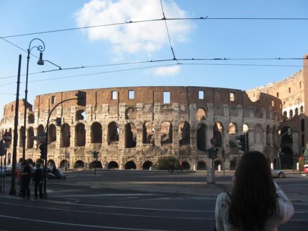 колизей в Риме)))