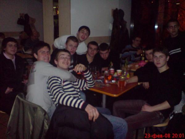 ..все вместе с братками!! ...сходка 23.02.2008!!